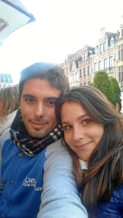 El onubense Javier Durón reside desde el pasado año en la ciudad belga de Lovaina.