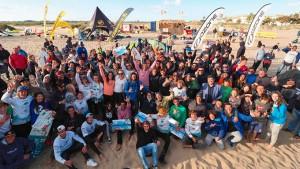 Isla Canela vivió una gran fiesta deportiva con la prueba de la II Spain Kiteboarding League.