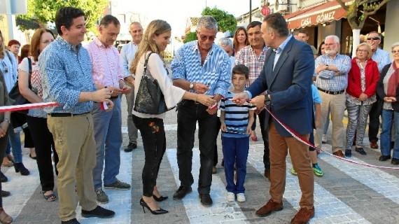 Inaugurada en La Palma, la calle María Auxiliadora tras año y medio en obras