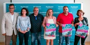 Un momento de la presentación del evento que tendrá lugar este fin de semana en Isla Cristina.