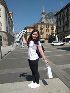 La joven ha seguido formándose en idiomas y temas turísticos.