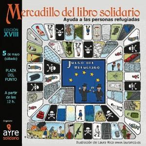 Cartel del Mercadillo.