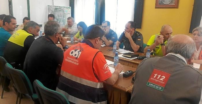 Aumenta un 8 % la atención de Emergencias 112 Andalucía en el marco del Plan Romero