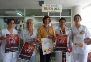El Hospital celebra el Día Mundial sin Tabaco.