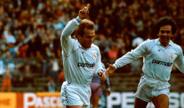Pardeza, con 81 goles en el Real Madrid y el Real Zaragoza, es el máximo goleador onubense en Primera.