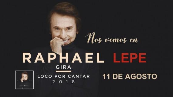 El gran Raphael actuará este verano en Lepe