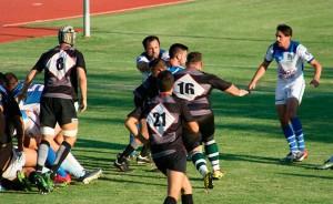 Buen partido del Instituto Británico Huelva Rugby Unión para cerrar la competición.