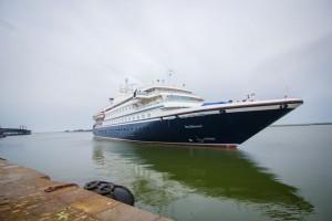 Buque de cruceros Seadream I.