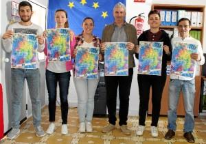 Un momento durante la presentación oficial del cartel de la 'Semana de la Juventud' de Aljaraque.