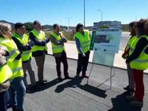 El director general de Infraestructura ha visitado las obras.