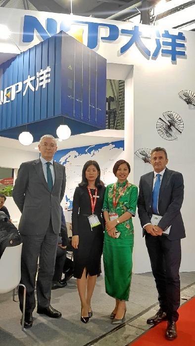 El Puerto de Huelva se posiciona en el principal evento logístico de Asia