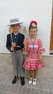 Antonio Naranjo y María Medina son los hermanos mayores este 2018.