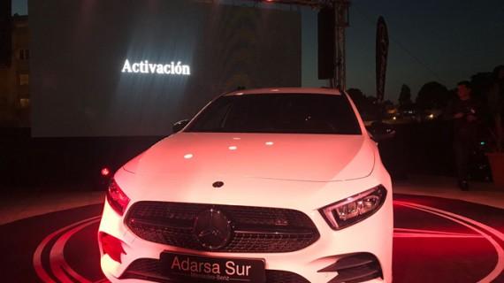 La nueva Clase A de Mercedes-Benz se presenta en el Mirador de la Joya