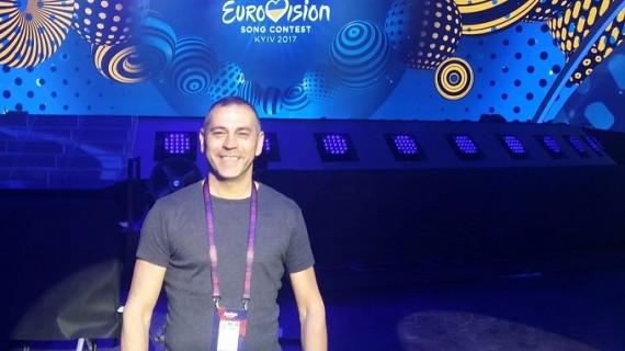 Miguel Ángel León, un onubense que ha vivido en directo las últimas 18 ediciones del Festival de Eurovisión