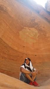 En la ciudad de Petra (Jordania).