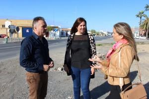 Manuel García Félix, Rocío Moreno y Rosalía Montero han informado del proyecto.