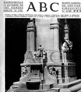 Portada del diario ABC el 12 de octubre de 1929. / Foto: ABC.