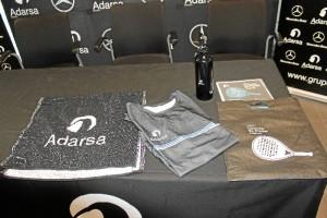 Imagen del Welcome Pack personalizado que recibirán los participantes.