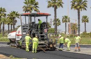 El tercer Plan de Asfaltado Municipal continúa el lunes en la calle Aspapronias.