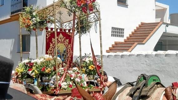 Campofrío y la aldea de Las Ventas viven su fin de semana grande con la romería en honor a la Santísima Trinidad