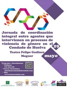 Cartel de la jornada de la Mancomunidad del Condado de Huelva.