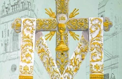 La coronación de la reina abre las fiestas de la Cruz de la Calle Cabo en La Palma