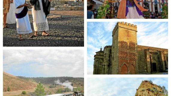 Aroche, el Castillo de Aracena, las Jornadas Medievales de Cortegana, el Parque Minero de Riotinto y 'Huelva te mira', elegidos como ejemplos de gestión del patrimonio