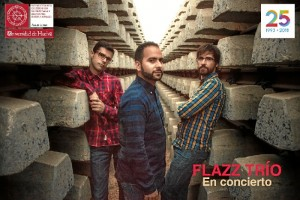 Flazz Trío actua este miércoles 2 de mayo, en la MicroSala de la Uhu, a las 21,00 horas.