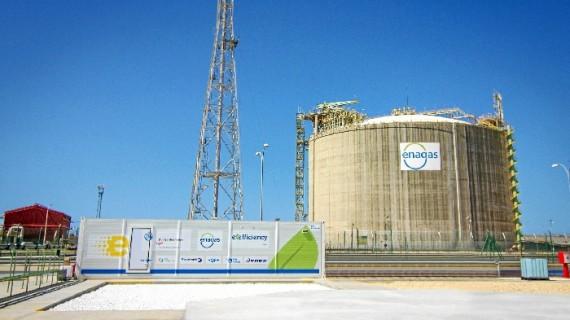 El Puerto de Huelva en la vanguardia mundial de la innovación sobre el frío generado por el gas licuado