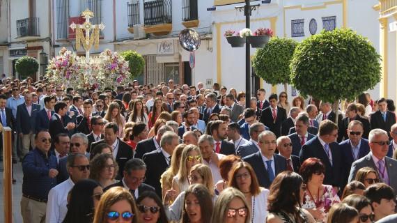 La Santa Cruz de la Calle Sevilla de La Palma celebra con brillantez sus fiestas