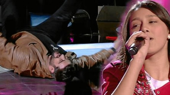 La almonteña Flori Alexandra se mete en la final de 'La Voz Kids' tras volver a deslumbrar al jurado
