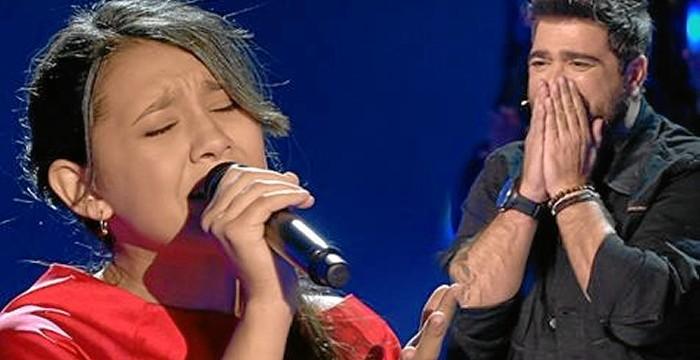 Flori no defrauda en la final de 'La Voz Kids'