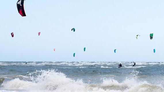 Isla Canela celebró con enorme éxito la primera prueba de la II Spain Kiteboarding League