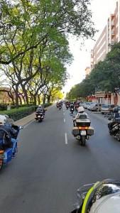 •Se recorrerán más de 200 kilómetros por la provincia y se realizará un hermanamiento con moteros de Sevilla.