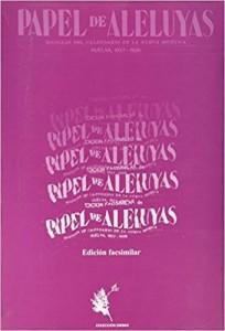 Ejemplar de 'Papel de Aleluyas', una revista de la Generación del 27 en la que escribió Muñoz de Vargas. / Foto: amazon.