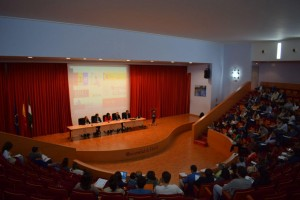 Asistentes al II Encuentro de Centros Innovadores de Andalucía.