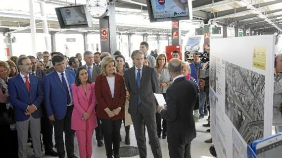 El ministro de Fomento inaugura oficialmente la nueva estación de trenes de Huelva