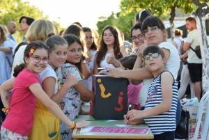 Fiesta de fin de curso del CEIP Marismas de Hinojos.