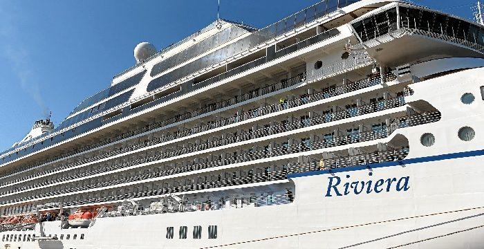El Muelle Sur del Puerto de Huelva recibirá al buque de cruceros 'MS Riviera' con más de 1.200 pasajeros a bordo