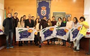 Becados con el programa Erasmus+ en 2017.
