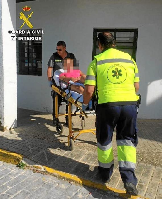 Rescatados dos senderistas entre Cala y Arroyomolinos de León