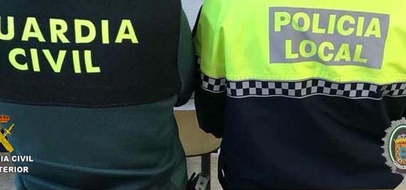 Guardia Civil y Policía Local de Nerva detienen a un varón que pretendía robar en un bar de la localidad
