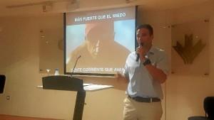 Una imagen durante la intervención.
