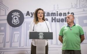 María José Pulido durante su intervención.