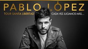Pablo López actuará en el Foro Iberoamericano.