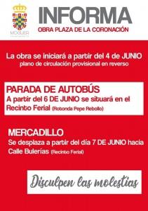 Anuncio realizado por el Ayuntamiento de Moguer.