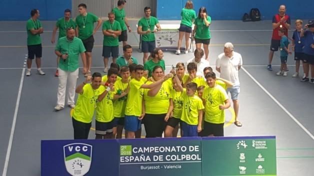 Huelva se proclama Campeona Nacional de Colpbol Infantil en Valencia