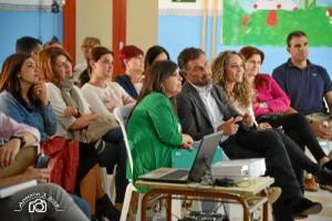 Todos se mostraron muy satisfechos del resultado, tras la proyección de un audiovisual del proceso del proyecto.