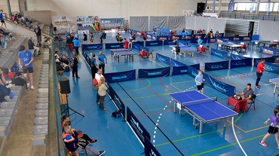 La 27ª edición de las XII Horas de Tenis de Mesa de Ayamonte fue todo un éxito