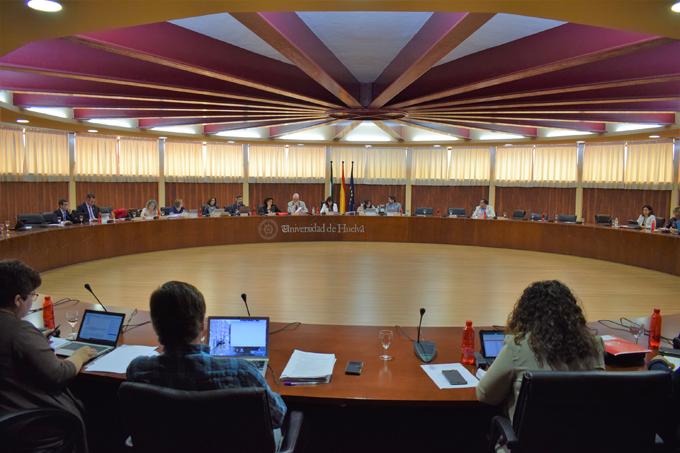 La Universidad de Huelva aprueba el Plan de Ordenación Docente para el próximo curso 2018/2019